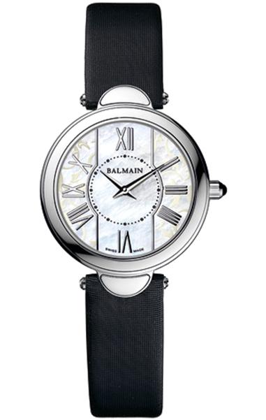 Женские часы Balmain Haute Elegance Lady 807.5326.2 из коллекции Haute Elegance Круглый стальной корпус украшенный